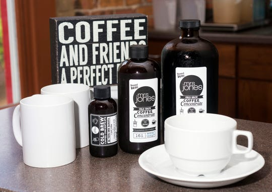 Mrs. Jones Cold Brew is sold at Joe Patti's, Apple Market, Ever'Man, Alyssa's Antique Depot in Pace, the newly-opened Craft Bakery & Gelato Shop, Bluejay's Bakery and more local shops in Pensacola. It's about a favorite at the Palafox Market on Saturdays.