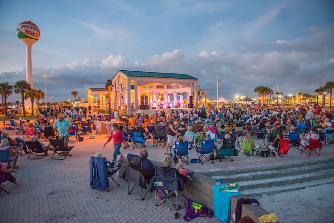 Bands on the Beach kicks off Tuesday at the Gulfside Pavilion on Pensacola Beach with Beatles cover band Not Quite Fab.