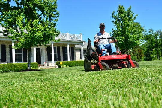 Lawn care is estimated to consume around 800 million gallons of gasoline a year in America.