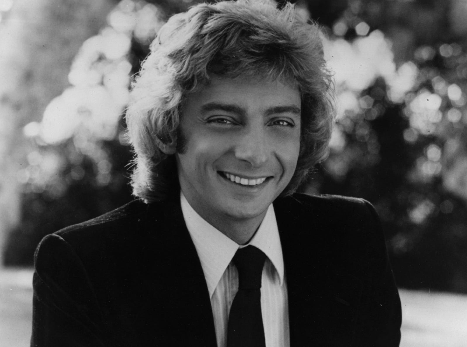 Barry Manilow is seen in a promotional photo circa 1979.