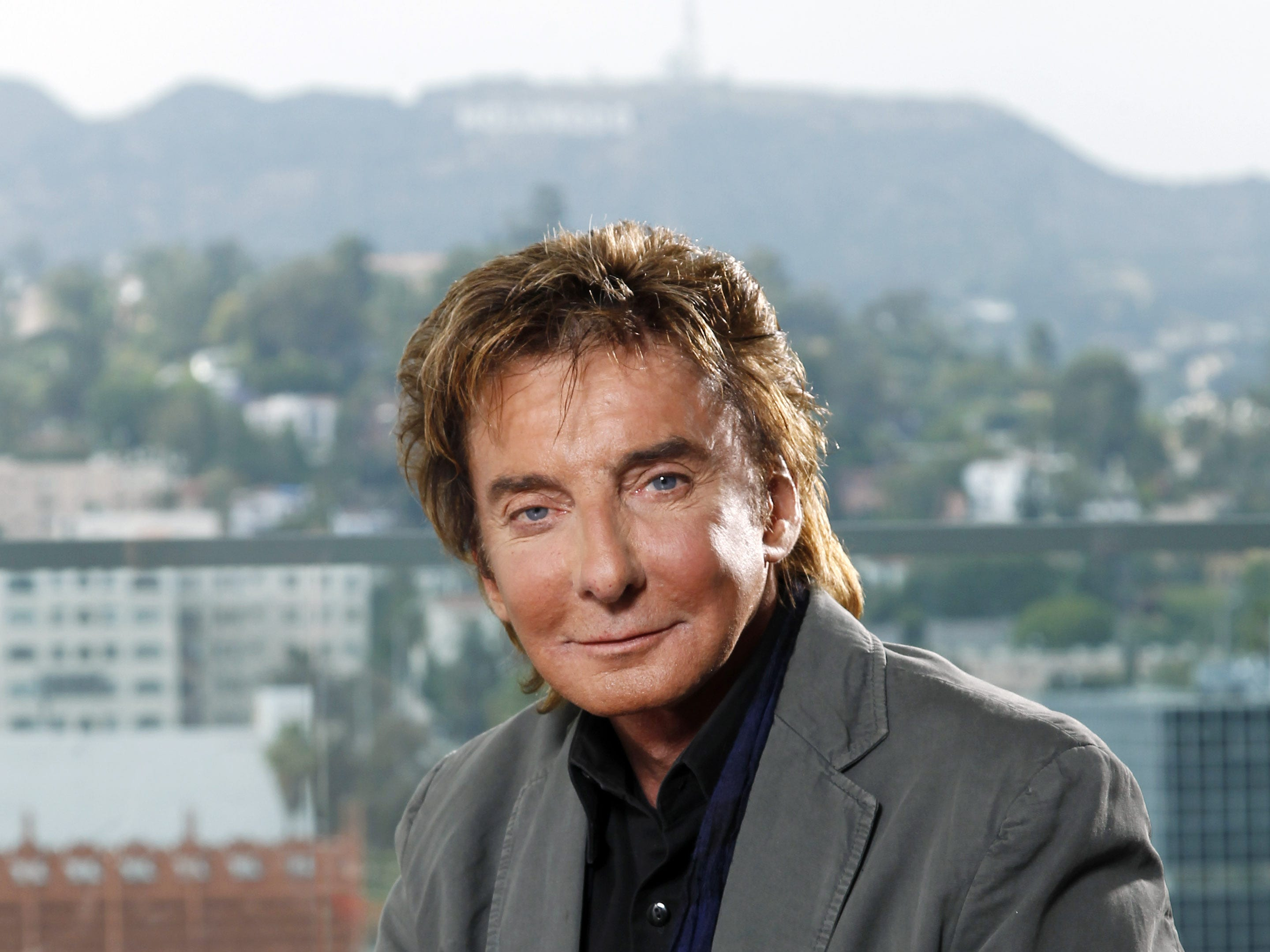 Barry Manilow poses for a portrait in Los Angeles on June 8, 2011.