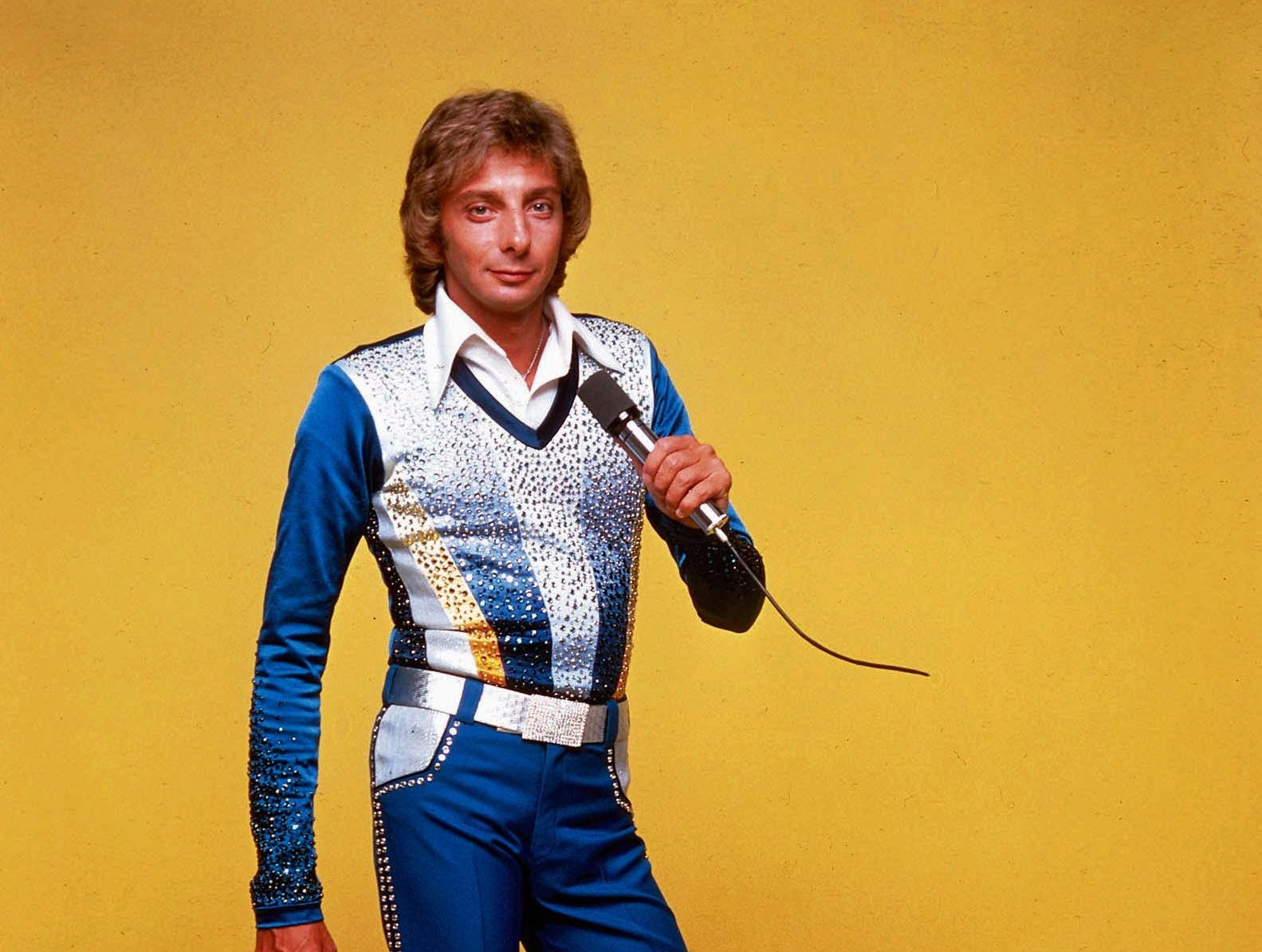 Barry Manilow in the 1970s.