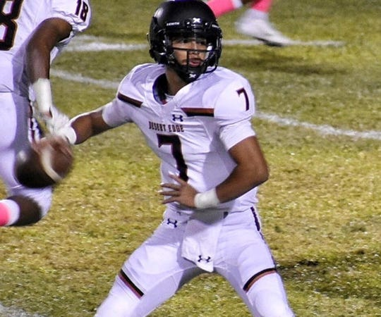 Adryan Lara, QB from Desert Edge, is among the top players in the Class of 2022.