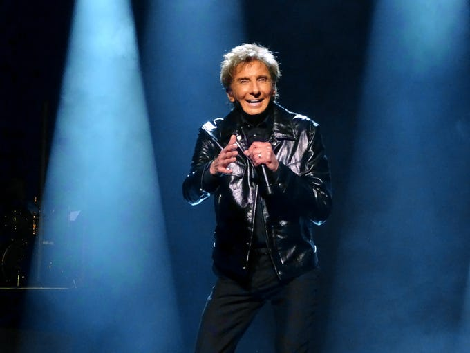 Barry Manilow has a residency at the Westgate Las Vegas.