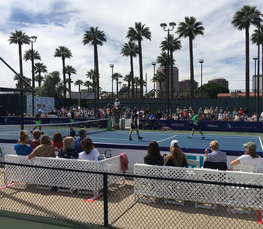 The 2019 Arizona Tennis Classic at Phoenix Country Club.