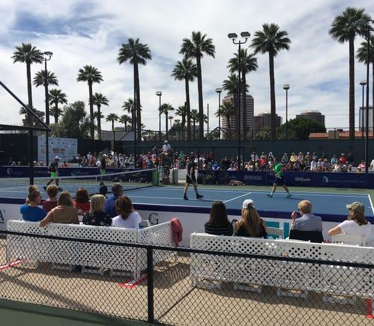 The 2019 Arizona Tennis Classic at Phoenix Country Club.