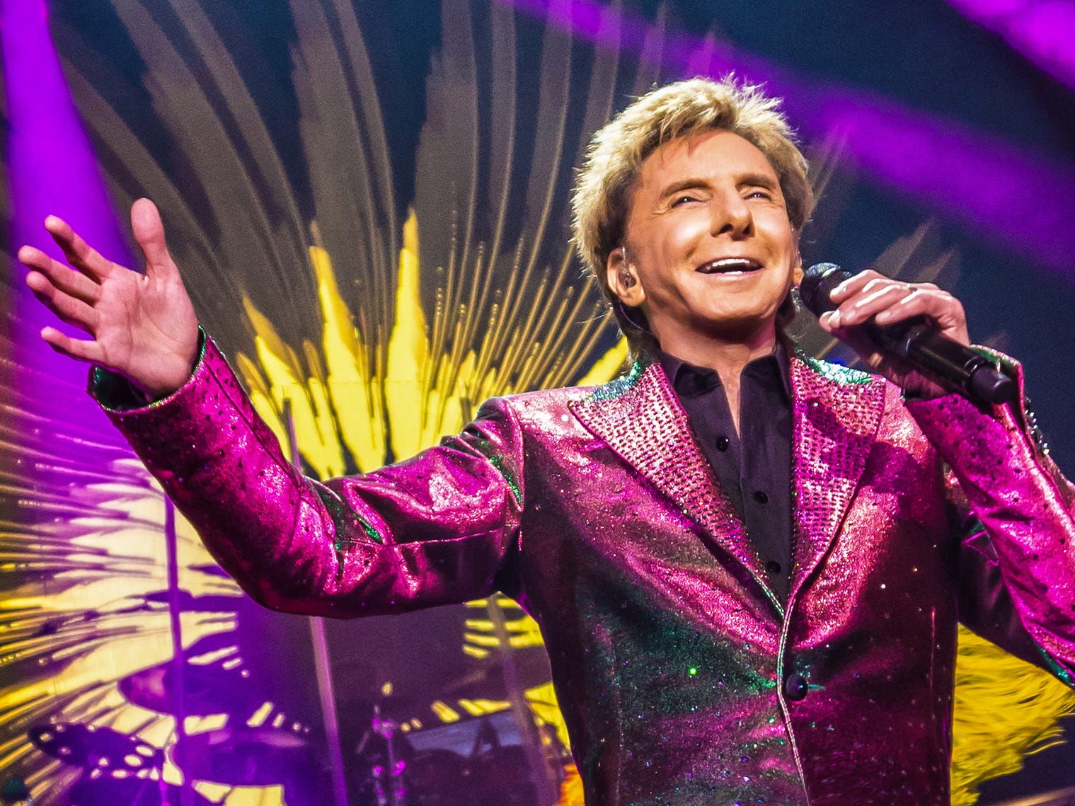 """I found myself on the radio between 'Kung Fu Fighting' and 'Boogie Oogie Oogie,"" Barry Manilow says of his career as a '70s hitmaker."