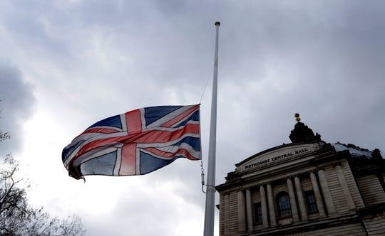 La bandera ondea a media asta en Nueva Zelanda en memoria de las victimas de los tiroteos.