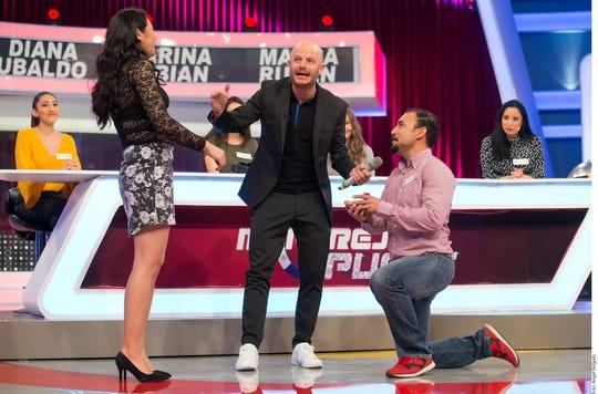 Facundo conducía un reality de amor en TV Azteca.