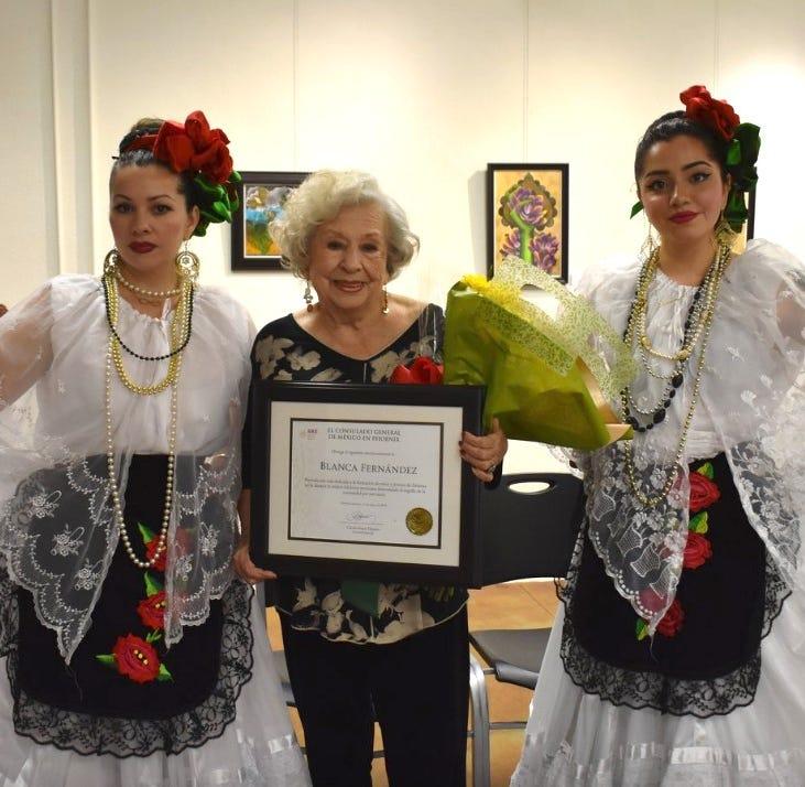 Doña Blanca Fernández: institución de la danza mexicana en Phoenix