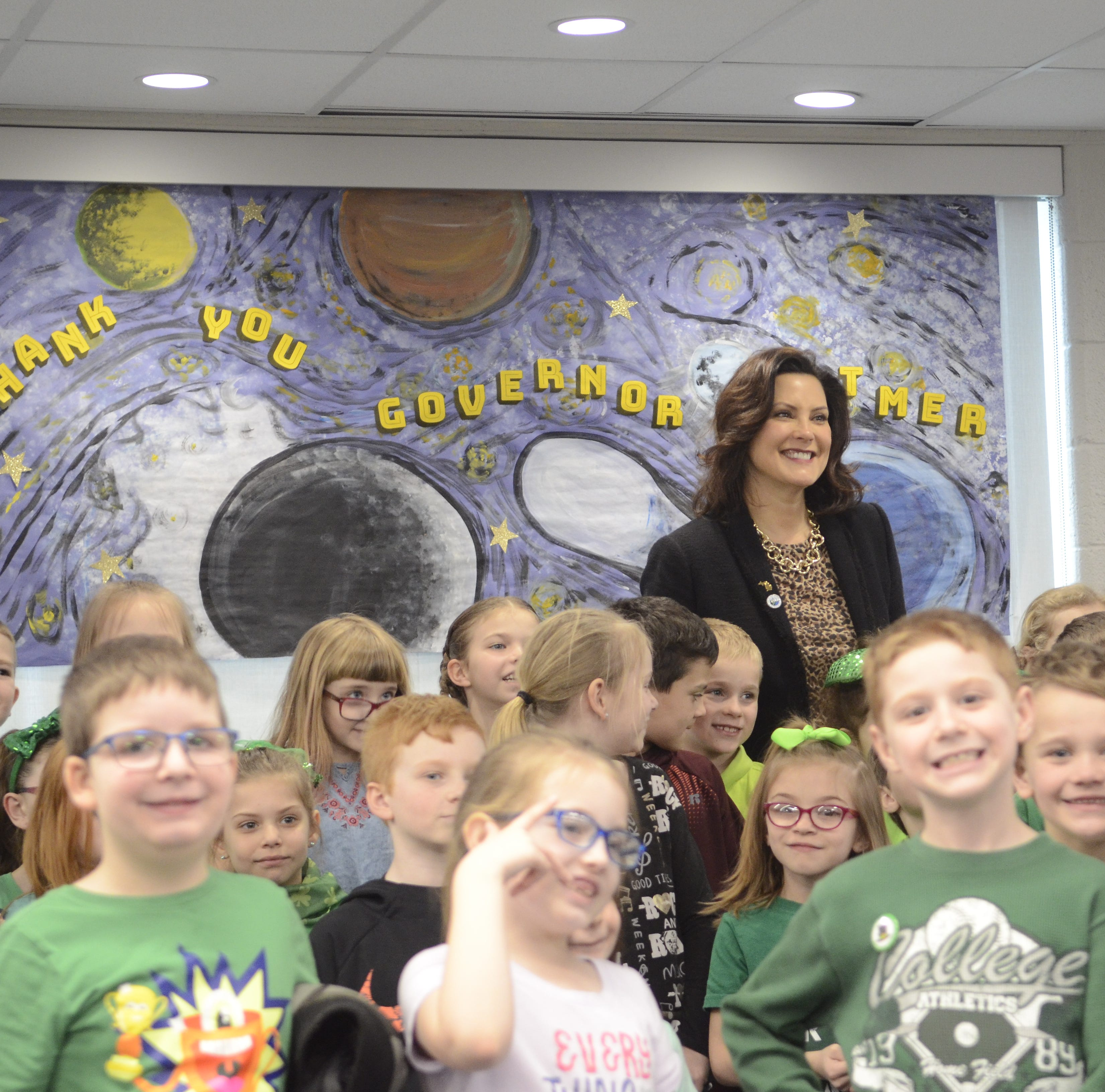 Gov. Whitmer talks gas tax, roads and literacy in Port Huron