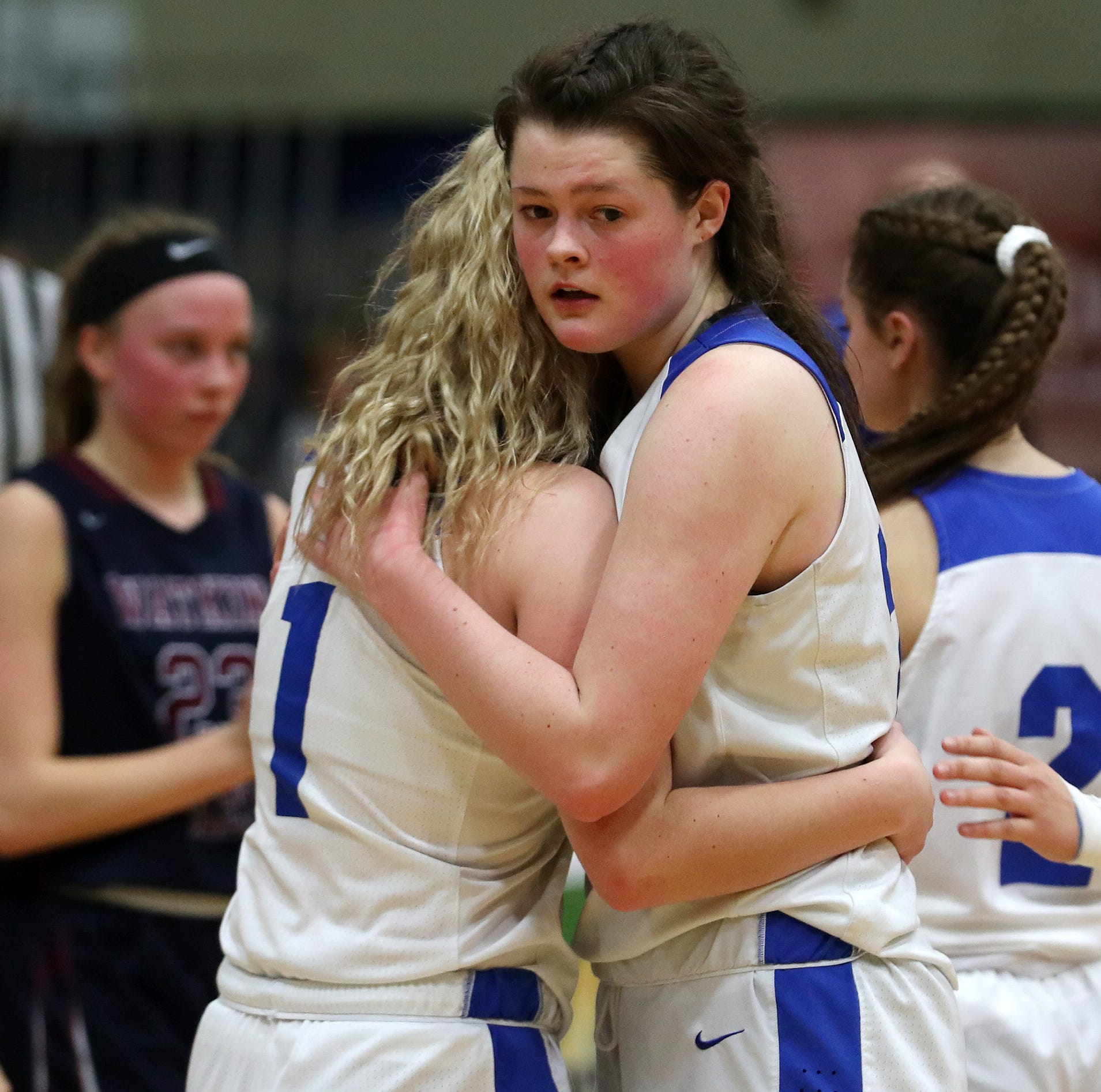 Millbrook girls basketball's title defense ends with loss in state final four