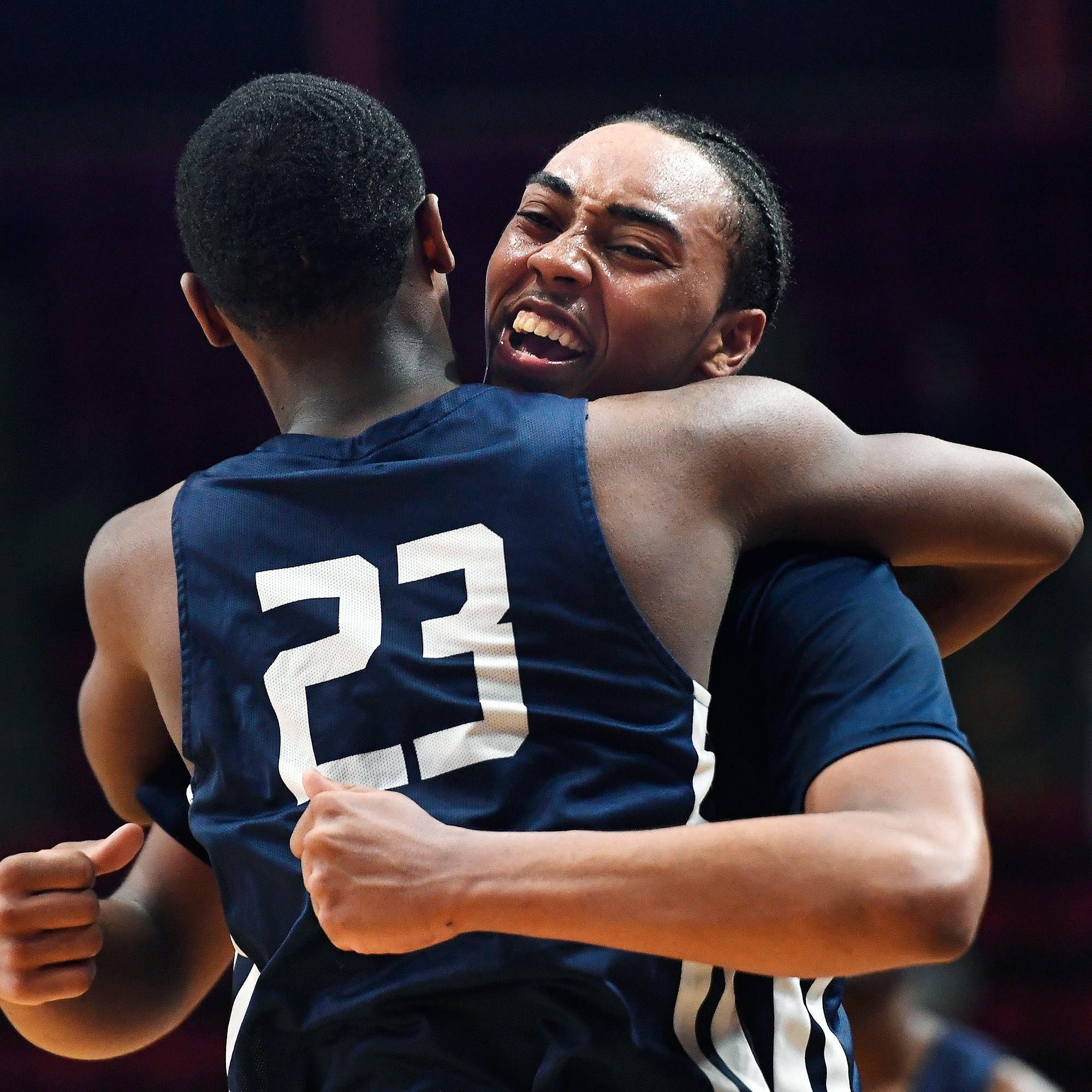 Thomas, Poughkeepsie reach basketball state final with win over Manhasset