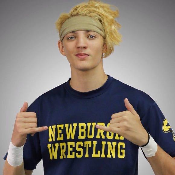 Major League Wrestling signed Newburgh's Jordan Oliver to a professional wrestling contract