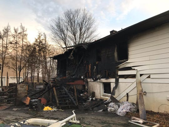 Multiple fire agencies responded to a house fire in LaGrange Friday morning as seen on March 15, 2019. All occupants evacuated and no injuries were reported.