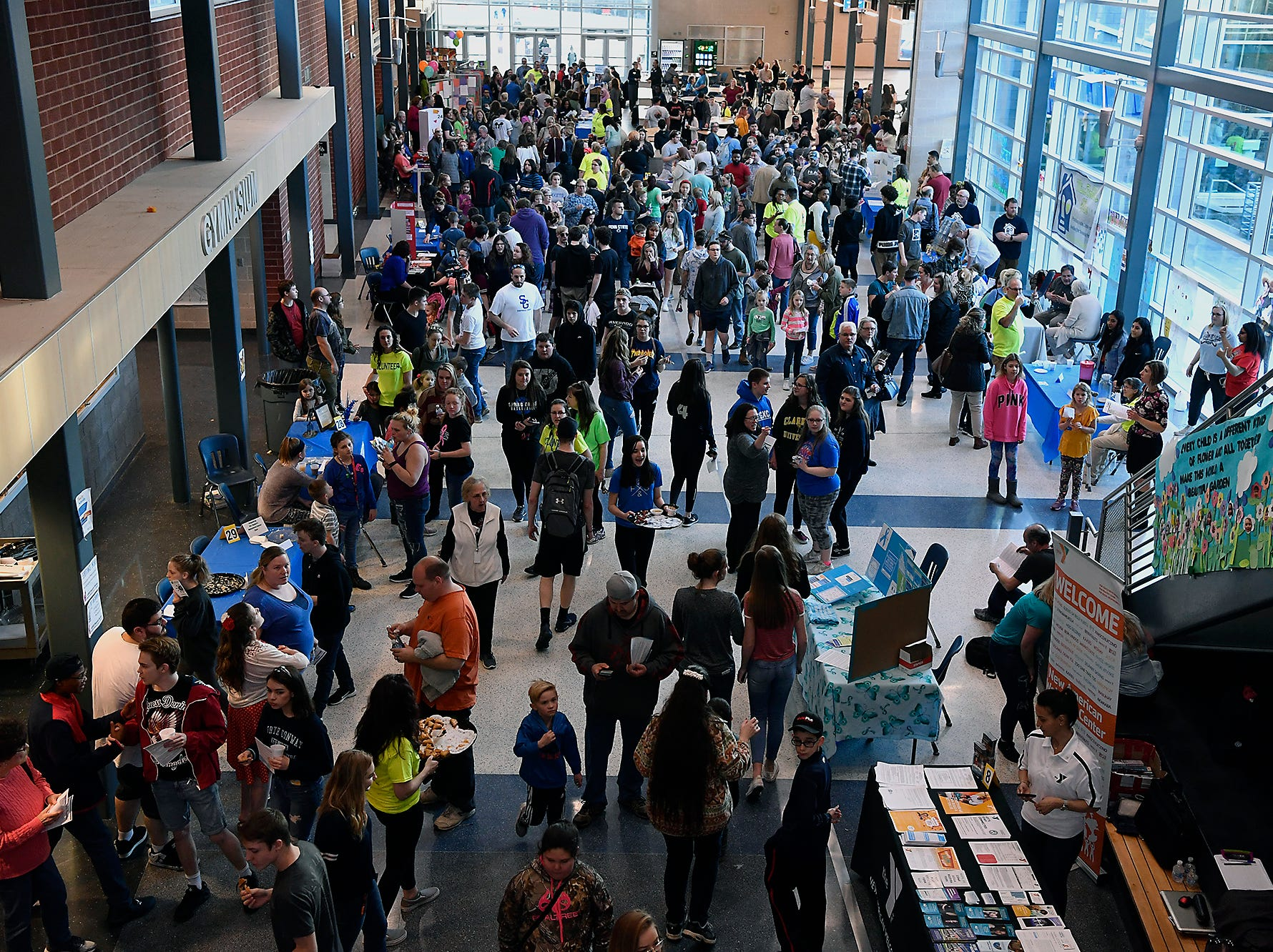 Spring Grove Area High School hosts it's third annual Diversity Festival, Thursday, March 13, 2019