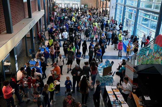 Spring Grove Area High School hosts it's third annual Diversity Festival, Thursday, March 13, 2019John A. Pavoncello photo