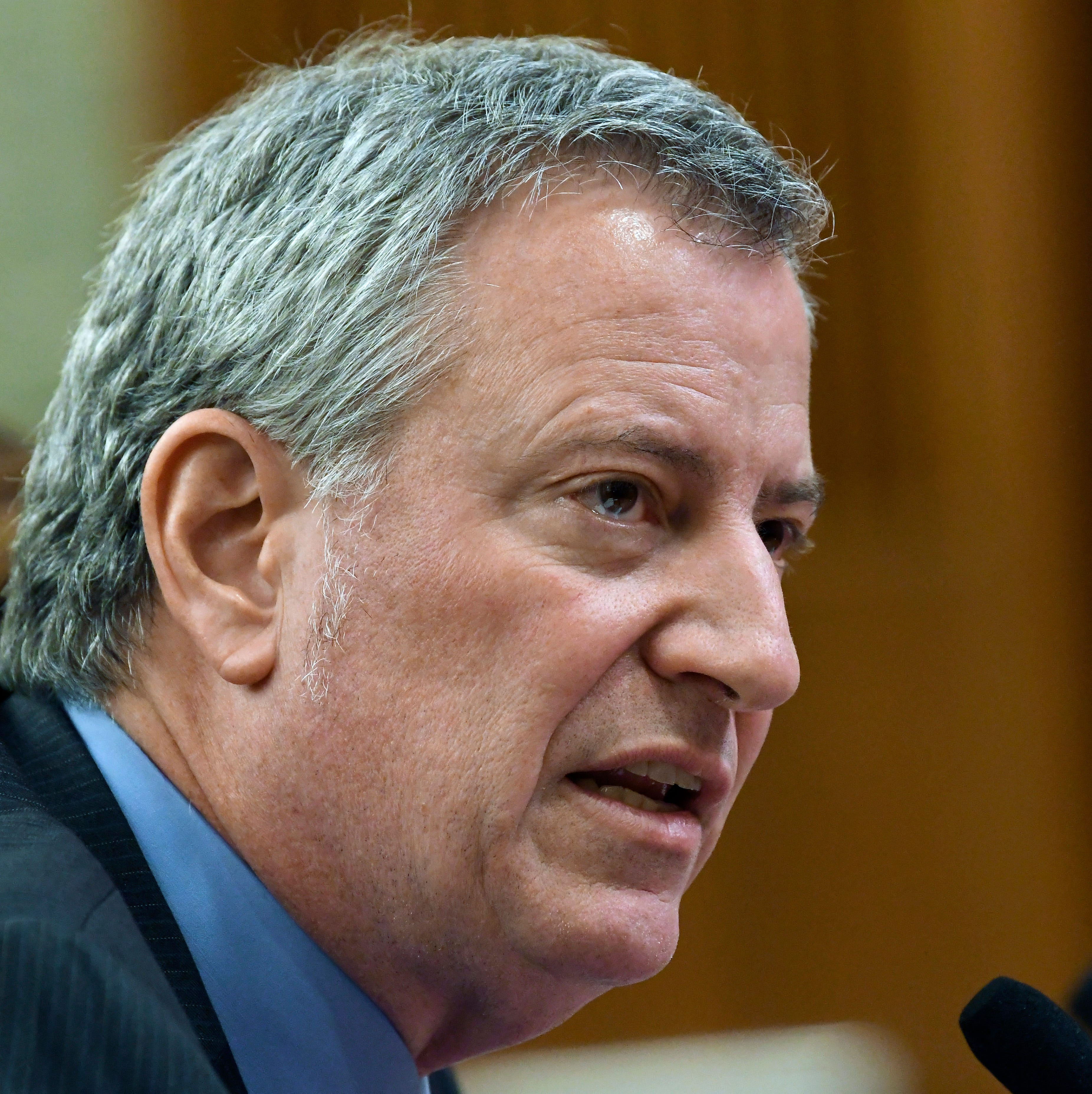 New York City Mayor Bill de Blasio enters president's race: 'I know how to take' on Trump