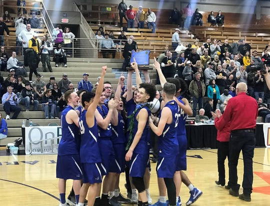 Western Christian's boys basketball team won the OSAA Class 2A state championship this season.