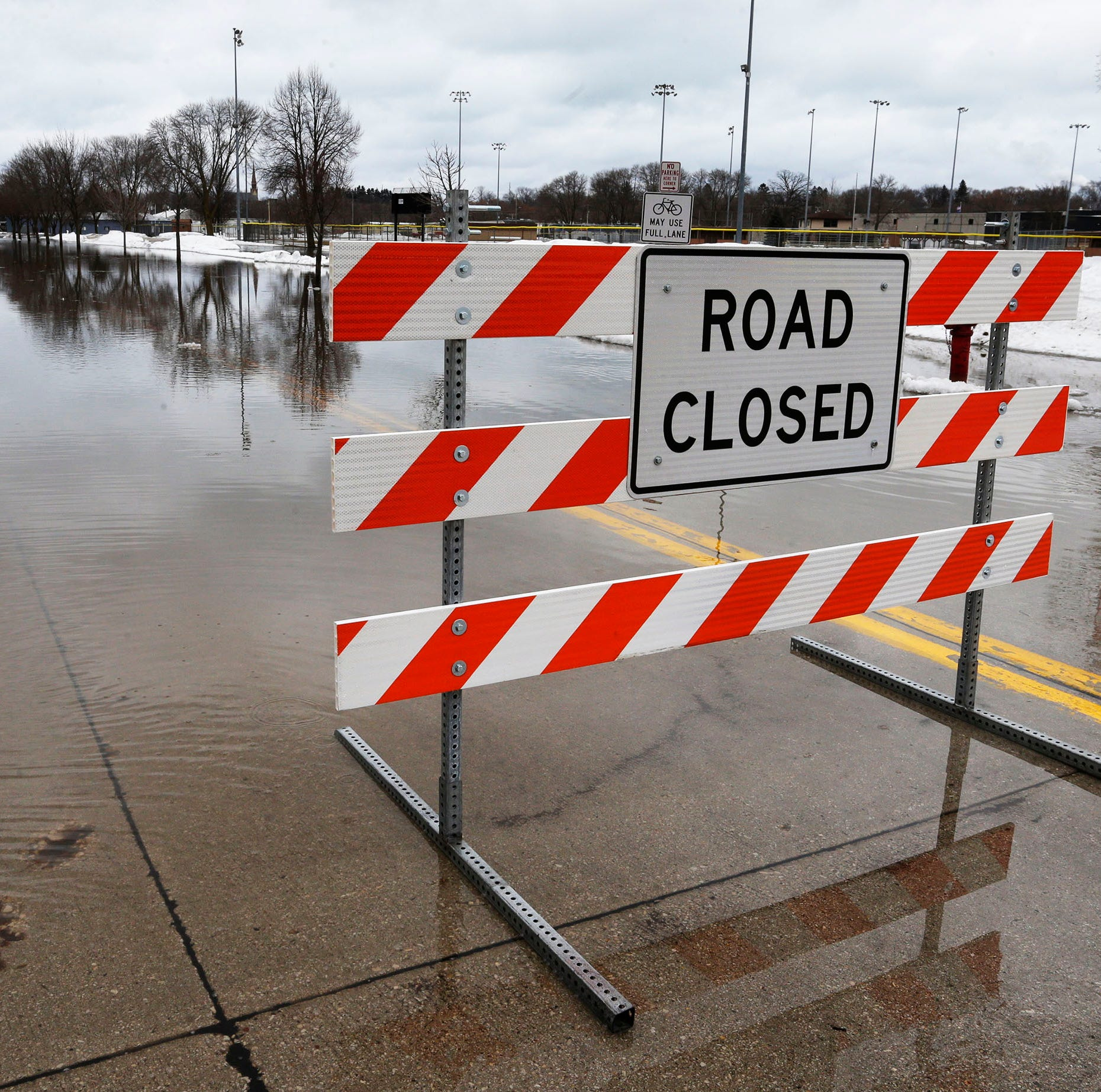 At least 20 Sheboygan County roads have been closed due to flooding, sheriff's office says