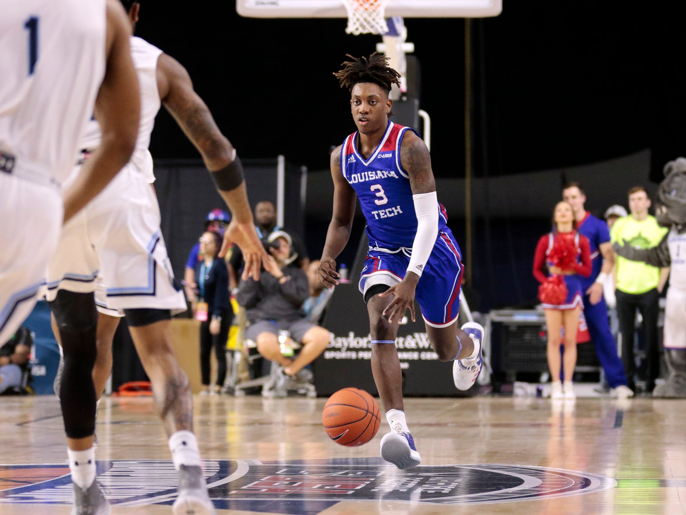 Louisiana Tech blows late 7-point lead, ousted at C-USA tourney