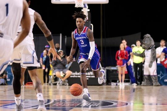 Louisiana Tech and Amorie Archibald (3) lost a heartbreaker at the C-USA tourney Thursday.