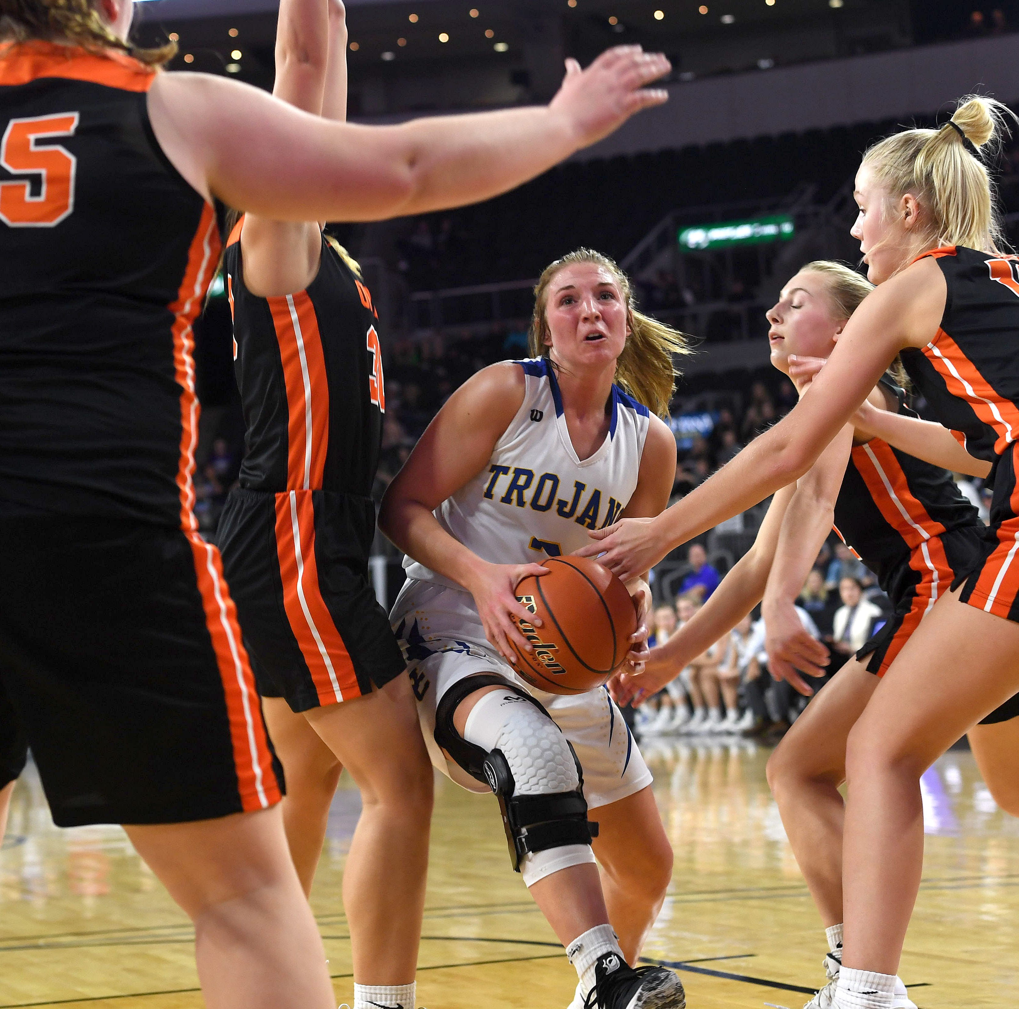 Class A state tournament: Top-seeded West Central holds off Lennox