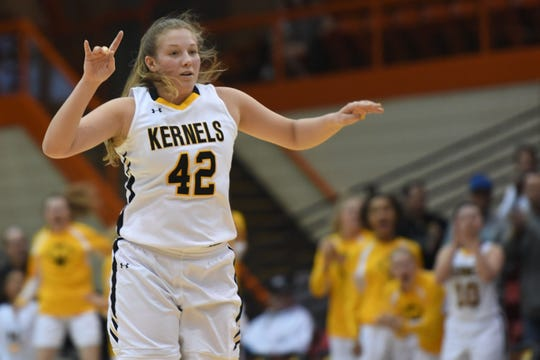 Miller logged 19 points on 7 of 14 shooting with eight rebounds, three blocks and two assists in an upset of top-seeded O'Gorman in the Class AA quarterfinals.