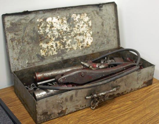 Horrie Culpepper's original porta-power.
