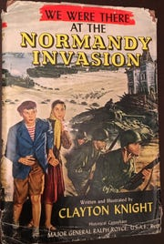 History series for young readers included We Were There at the Normandy Invasion.