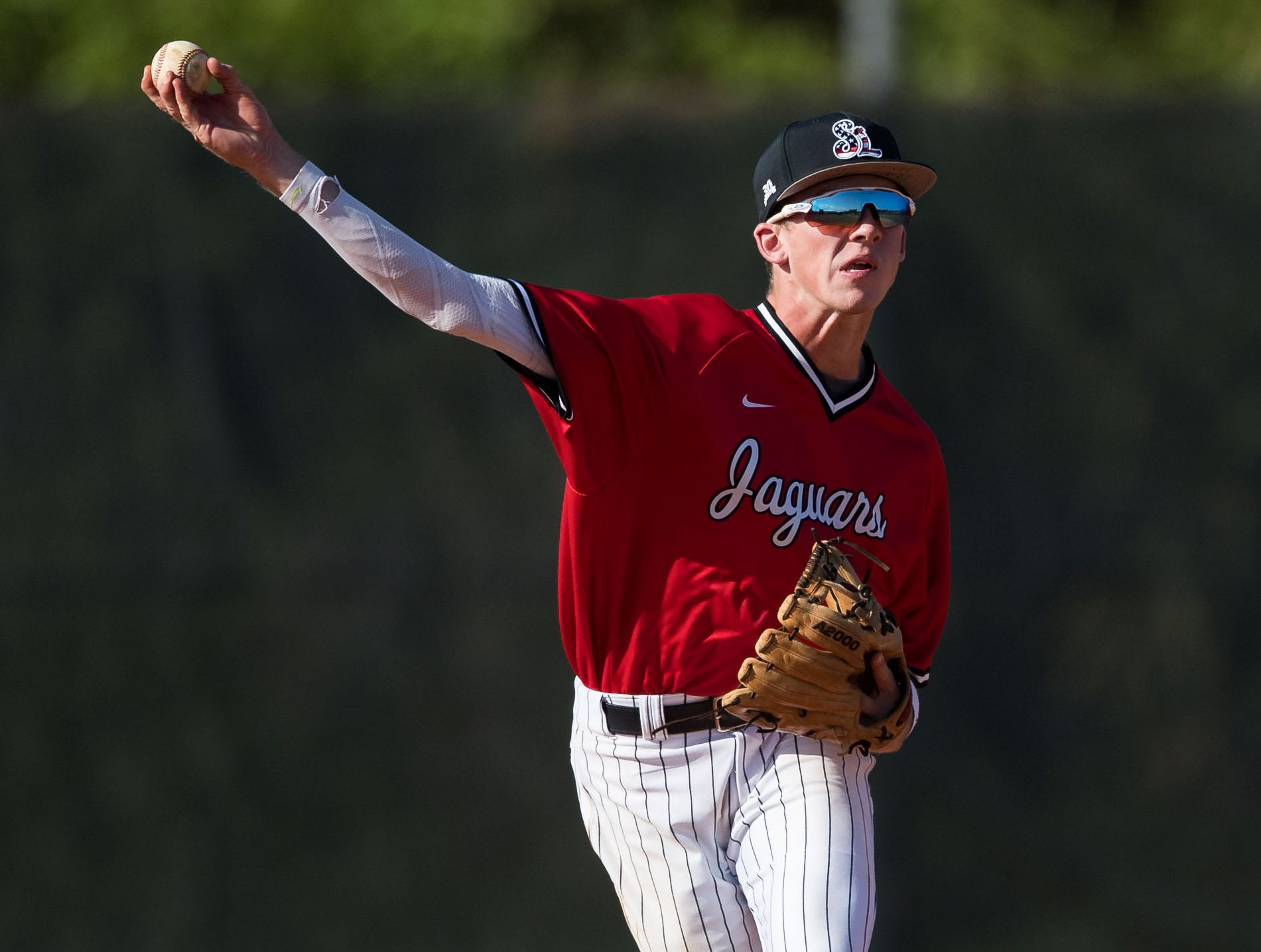 Lincoln Park Academy plays against Port St. Lucie during the high school baseball game Thursday, March 14, 2019, at Port St. Lucie High School.