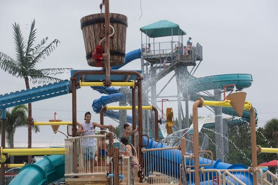 Sailfish Splash Waterpark, shown in a 2019 file photo, is owned by Martin County and expenses are covered, in part, by tax dollars.