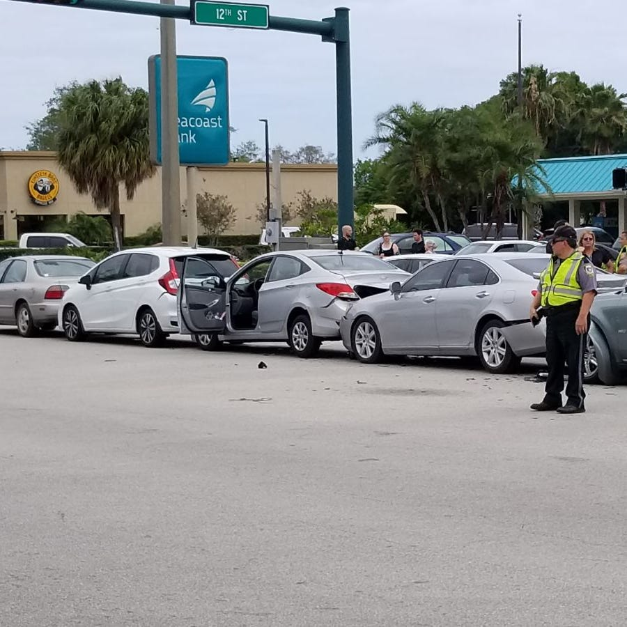 All lanes now open on northbound U.S. 1 in Vero Beach after six-vehicle crash