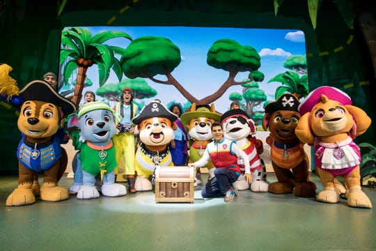 Paw Patrol brings all the beloved TV characters live on stage.