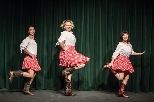 """The Visalia Players' """"Honky Tonk Angels"""" opens Friday, March 22 at the Ice House  Theatre in Visalia."""