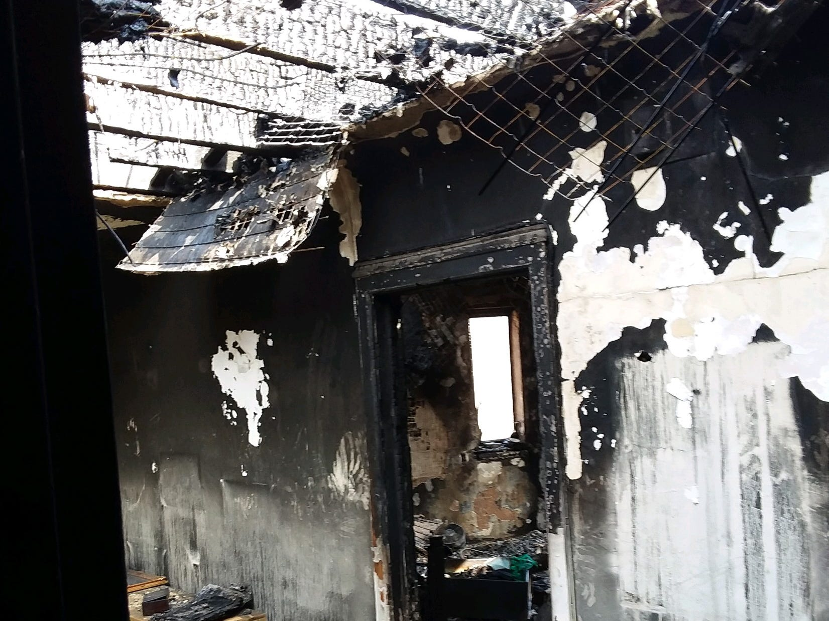 This is the aftermath of the March 12, 2019, fire at 15 Parkview Ave. in Yonkers, which was started by welding.