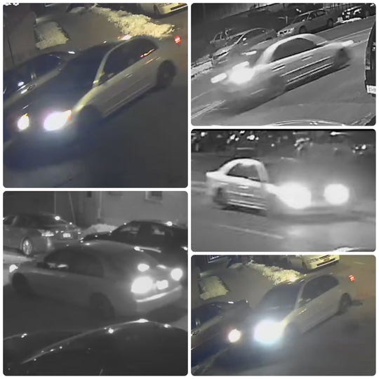 Yonkers police are seeking information on this car wanted in a hit-run that killed Jesus Angel Villanueva, 23, at Bruce Avenue and Radford Street about 2:55 a.m. Friday, March 8, 2019.
