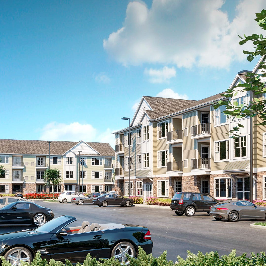 Woodmont Hills apartment complex takes shape in Ramapo