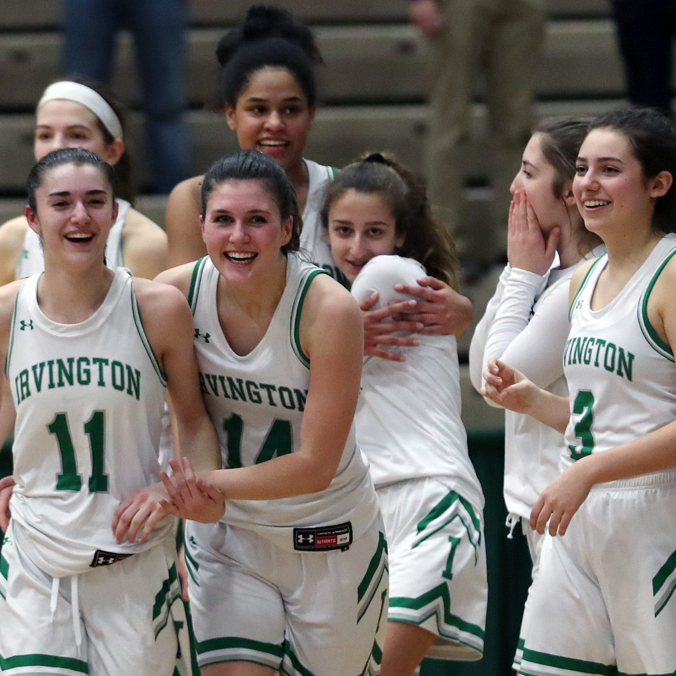 Girls basketball: Irvington finds a way to beat South Jefferson in 'chaotic' semifinal win
