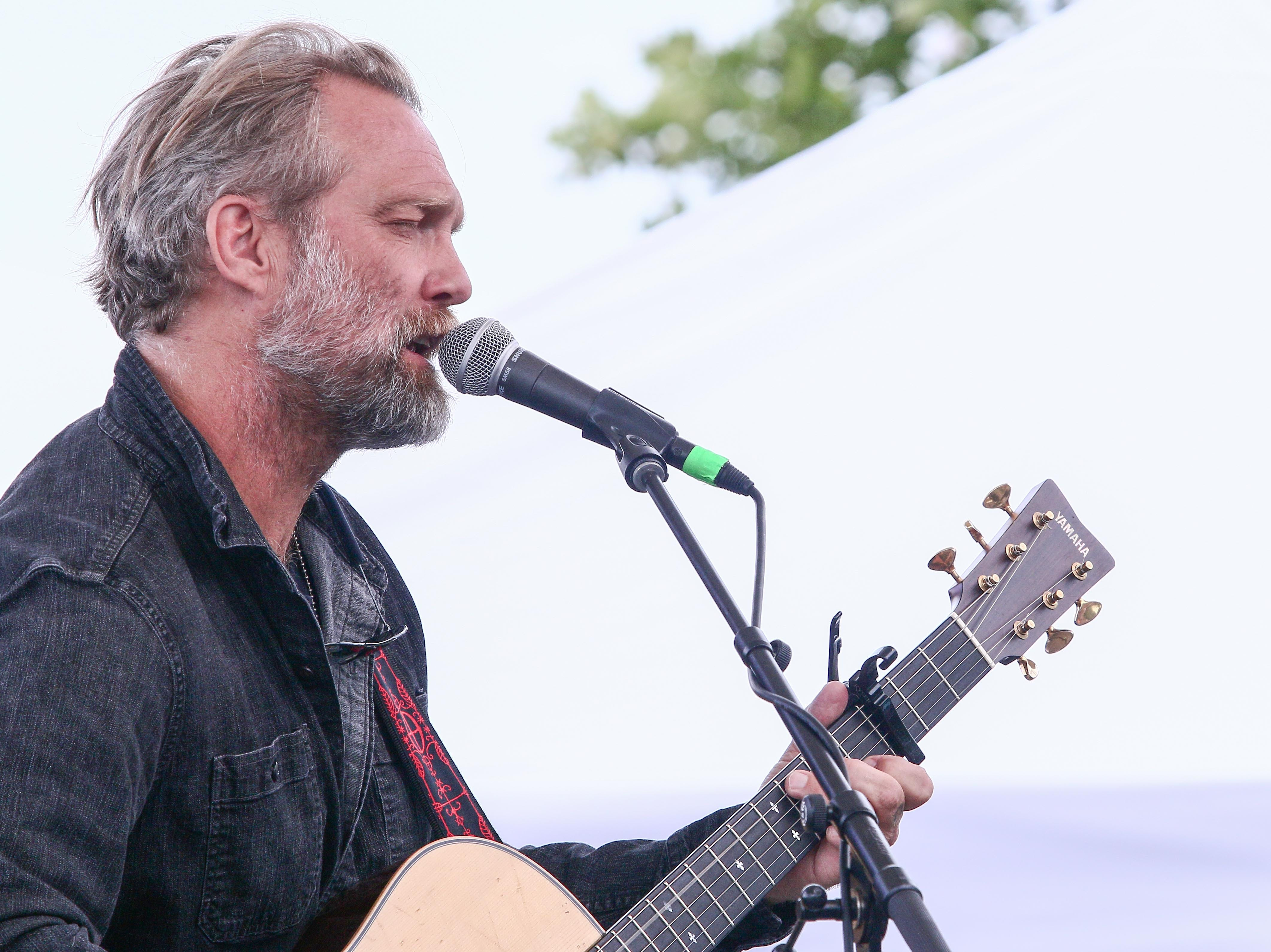 Anders Osborne performs at Bromberg's Big Noise in 2017.