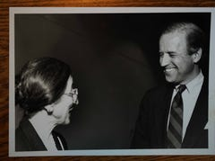 Joe Biden to leave campaign trail to return to Delaware for Sonia Sloan's funeral
