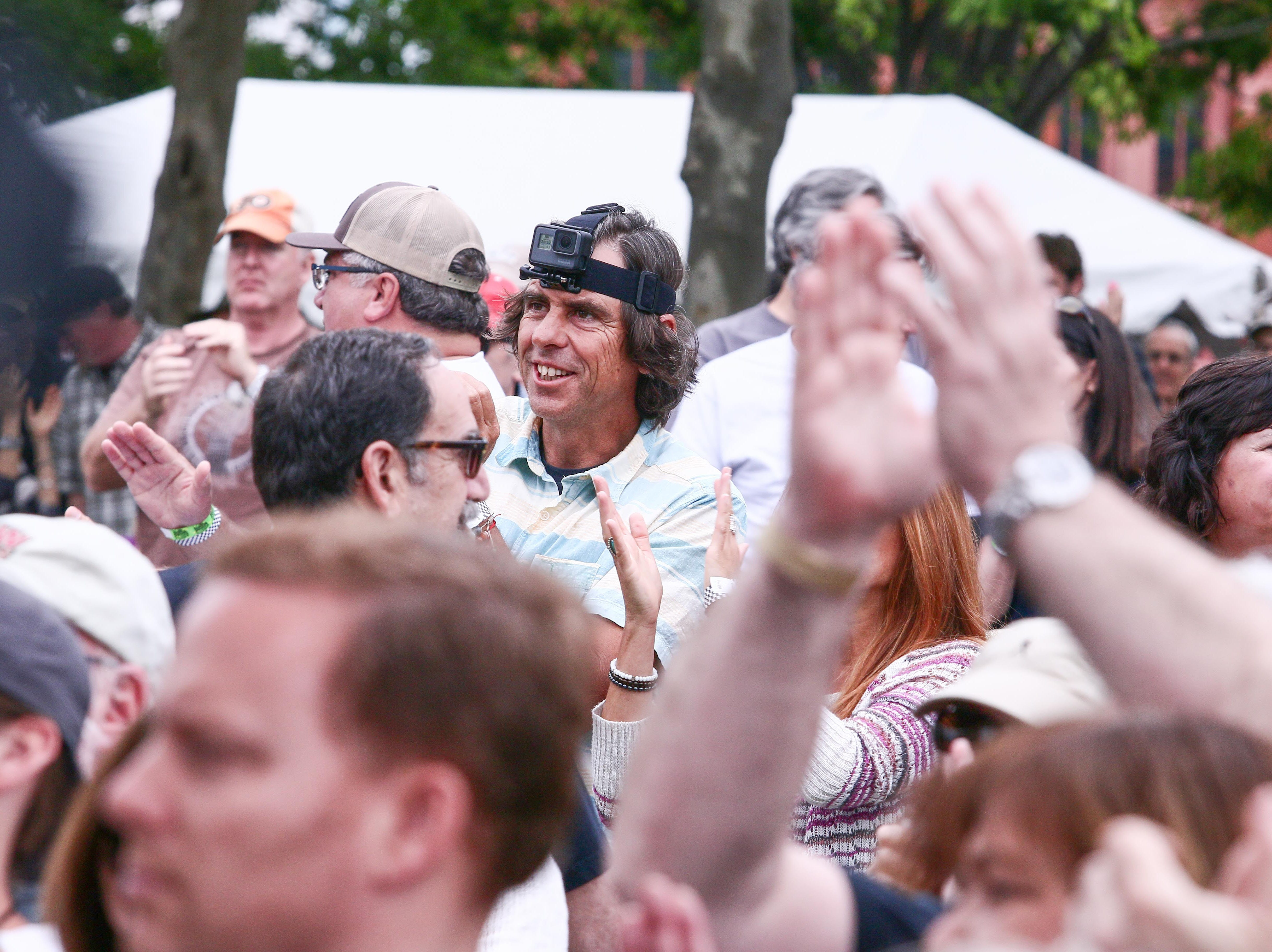 A crowd of 3,000 enjoys themselves at Bromberg's Big Noise on Saturday, May 20, 2017, at Tubman Garrett Park in Wilmington.
