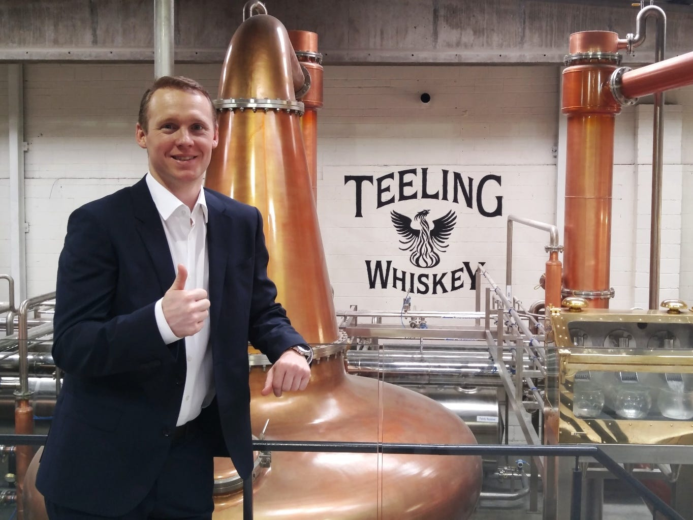 """Our family origins in the industry began back in 1782 when Walter Teeling had a craft distillery in the Liberties area of Dublin and as part of our goal to revive our old family whiskey brand it made perfect sense to go right back to where it first began to build our new distillery,"" Teeling says. ""In 1976 the last Dublin distillery stills went cold and so began the decline of an industry long associated with my home town. It makes me very proud to be able to bring something uniquely Dublin back to the cultural and social fabric of the city."""