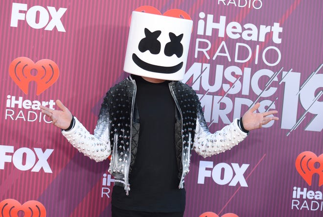 DJ Marshmello will be among the many musicians who have ties with video games scheduled to appear at the Metarama Gaming + Music Festival in Las Vegas Oct. 19-20.