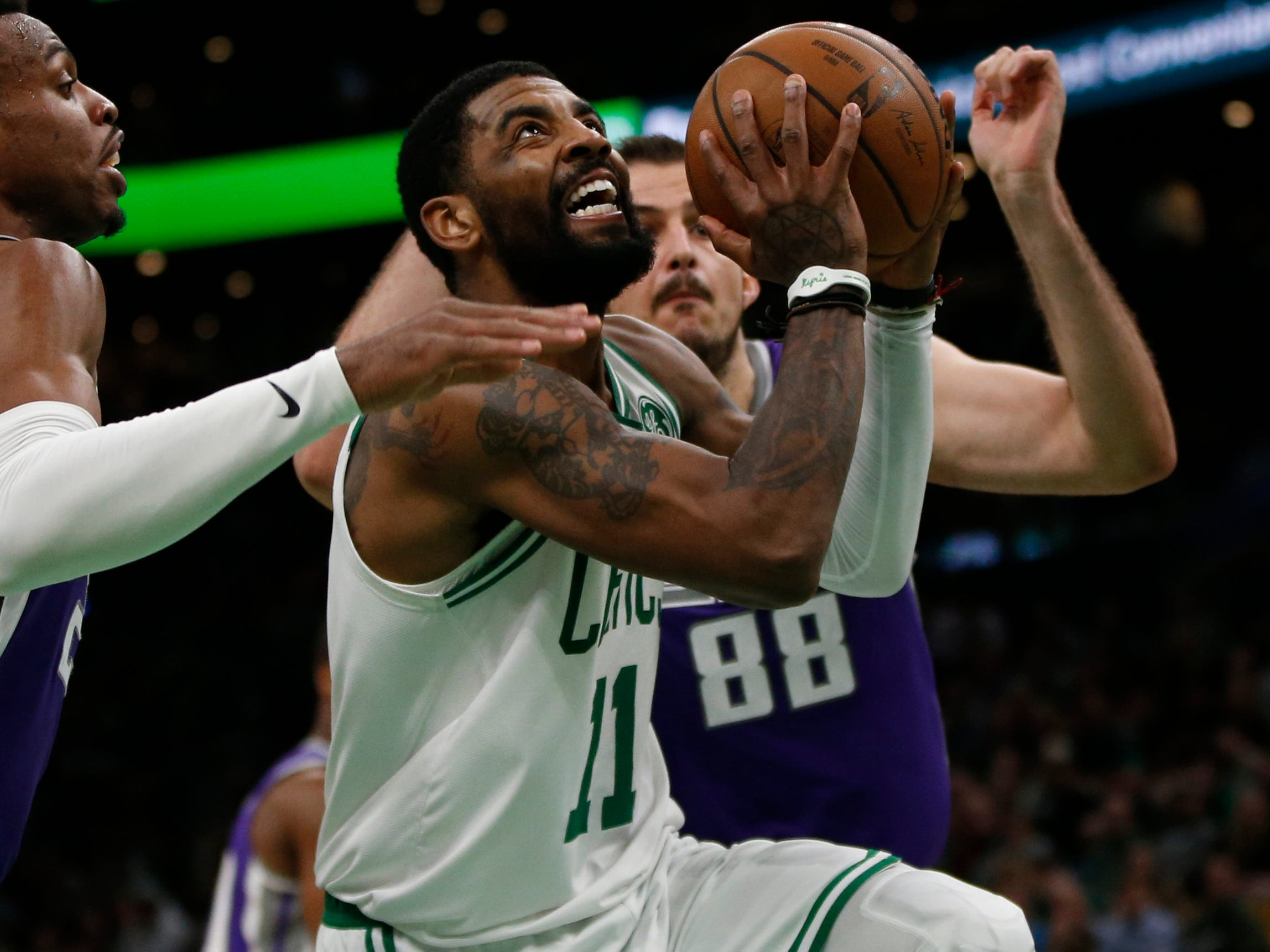 101. Kyrie Irving, Celtics (March 14): 31 points, 12 assists, 10 rebounds in 126-120 win over Kings.