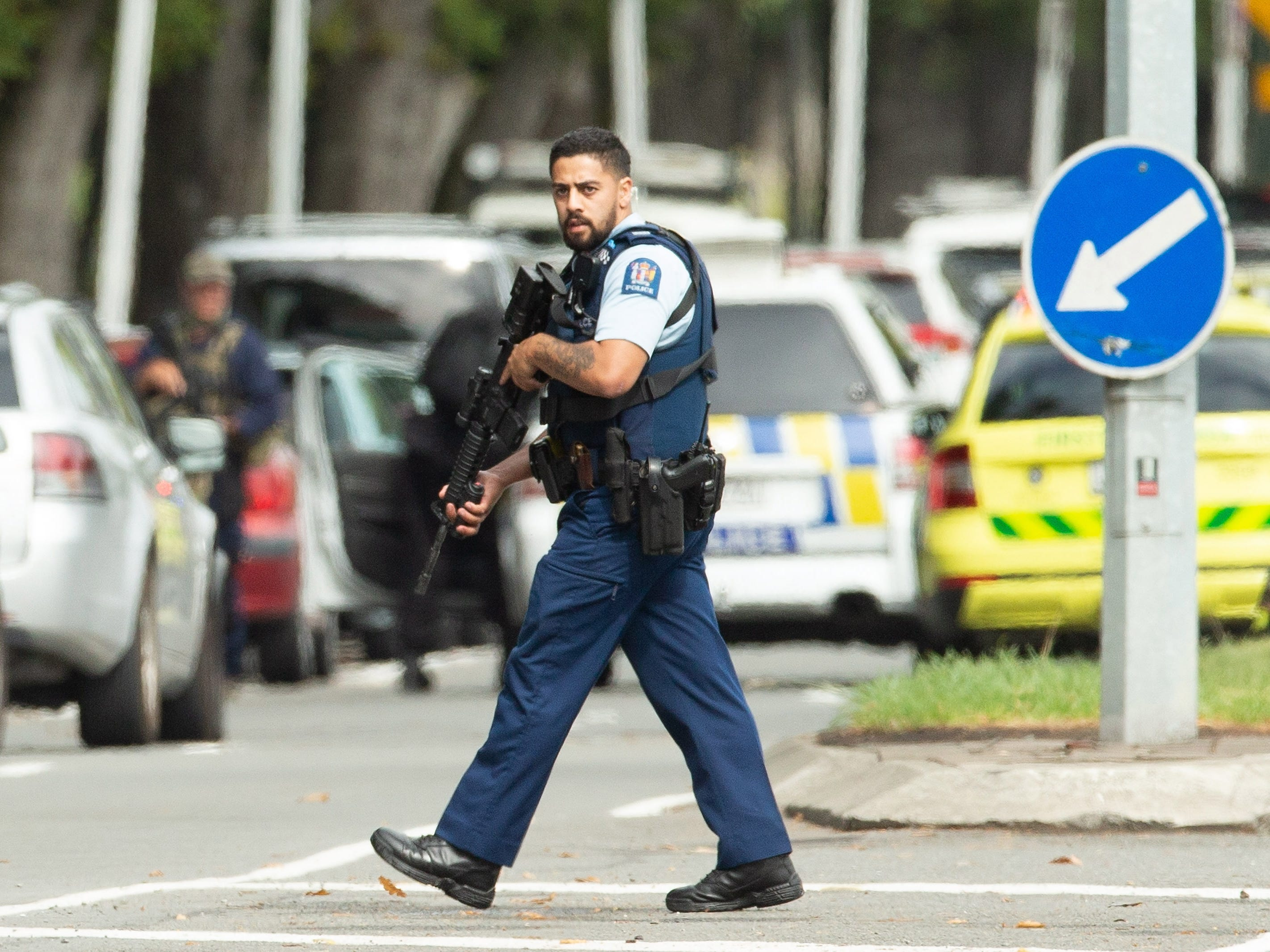 Media amplifiesNew Zealand shooting suspect's 'manifesto,' giving mass killers a platform