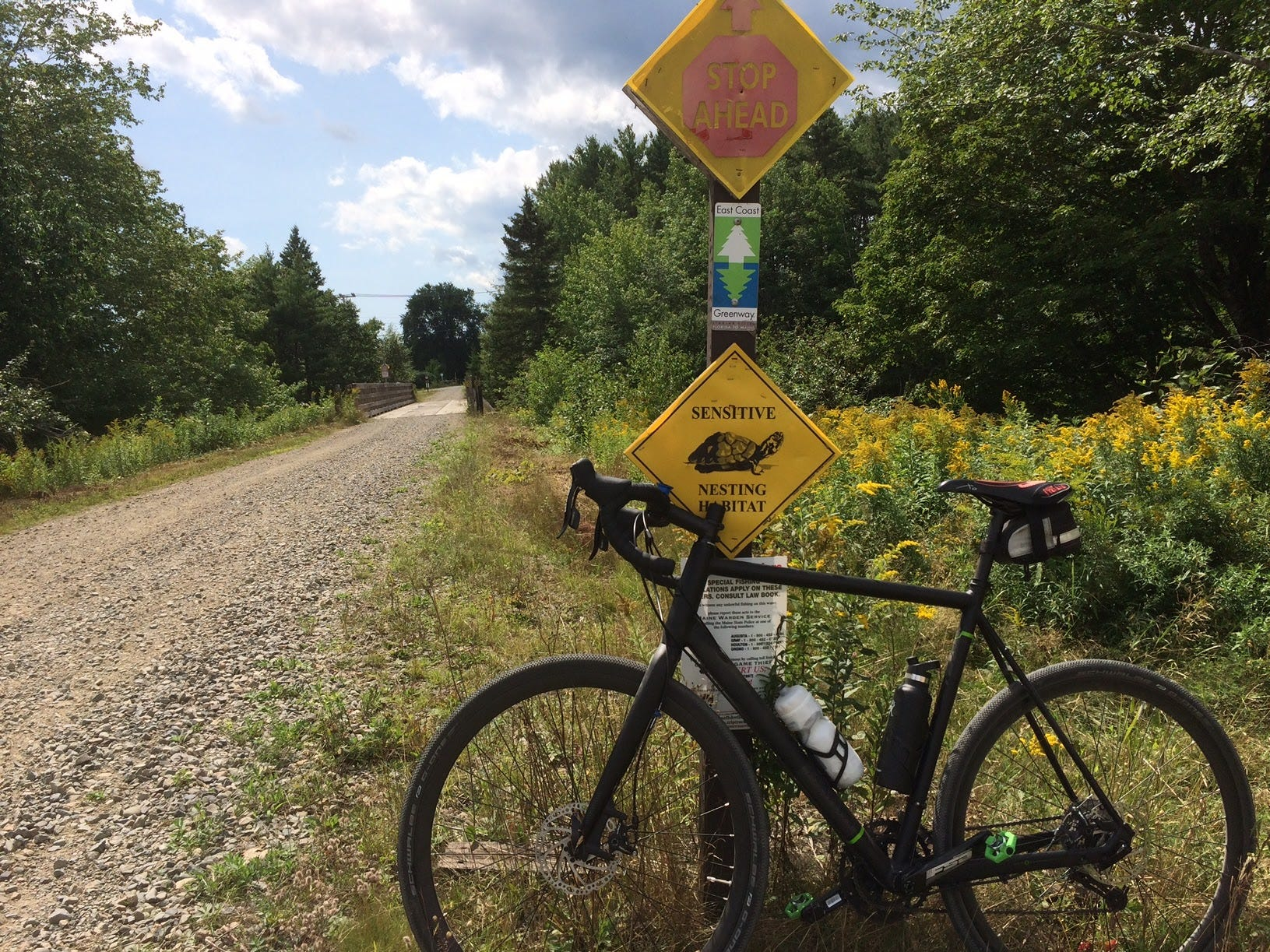 The 85-mile Sunrise Trail in Maine is the longest continuous stretch of the greenway to date.