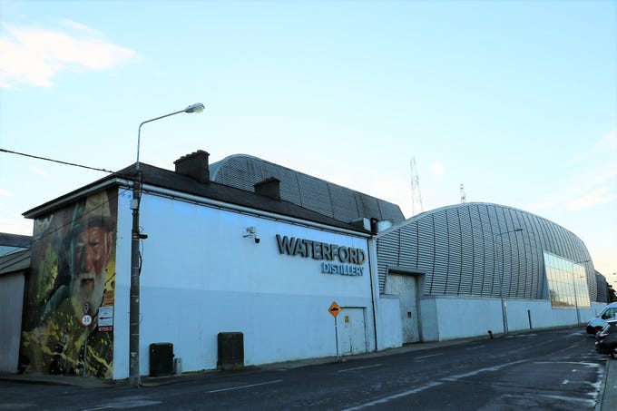 Waterford Distillery in Waterford, Ireland, was founded in 2014 and began production in early 2016. The distillery resides in a former Guinness brewery, and many of the employees from the plant's previous incarnation were brought on to run the distillery.