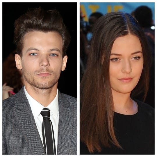 Louis Tomlinson (L) is mourning the death of his 18-year-old sister Felicite.