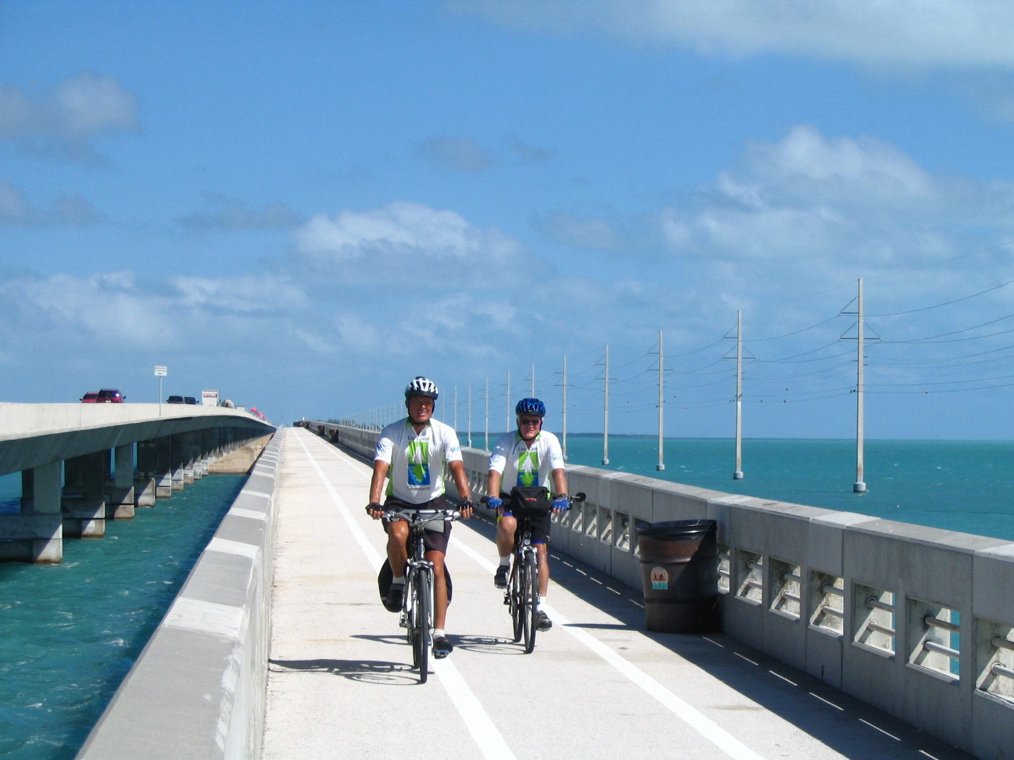 For an epic ride, take the 106-mile Florida Keys Overseas Heritage Trail from Key Largo to Key West, over 23 bridges.